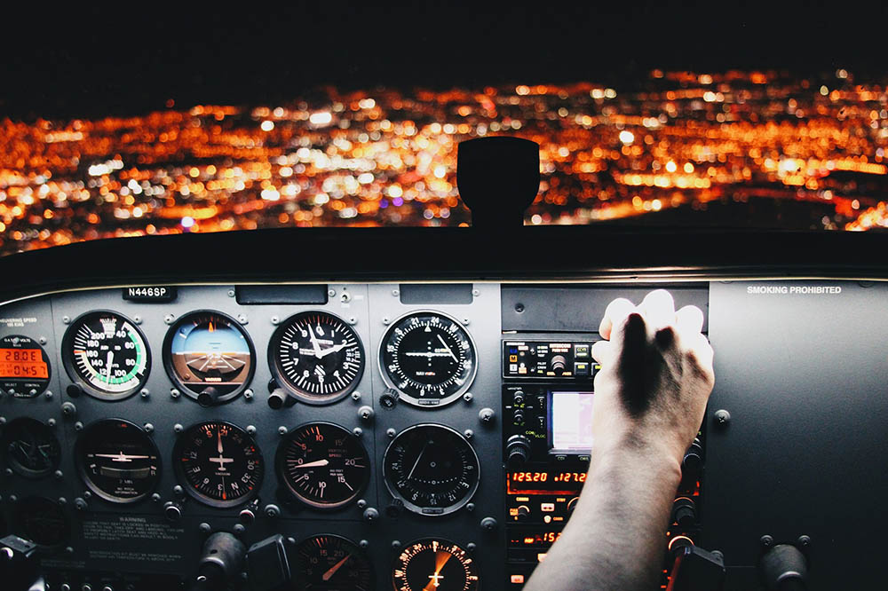 pilots listen to music